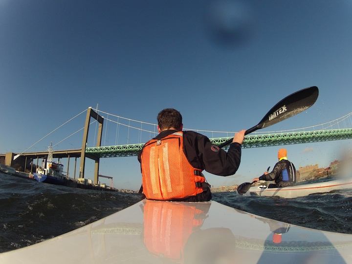 Passing the Alvsborg Bridge