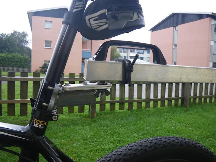 cart bike detail
