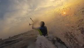 surfski and kite