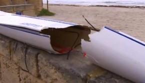 shark attack surfski
