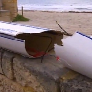 shark attack surfski