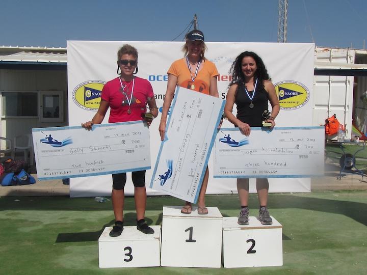 Carola Cordes won the womens race