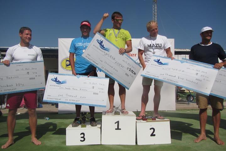 Jasper Mocke won the Aegean Race 2013