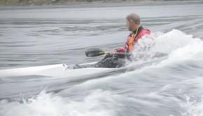 surfski in Skookumchuck