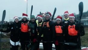 christmas paddling