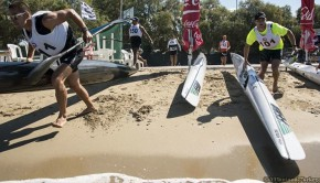 aegean surfski race 2014 start